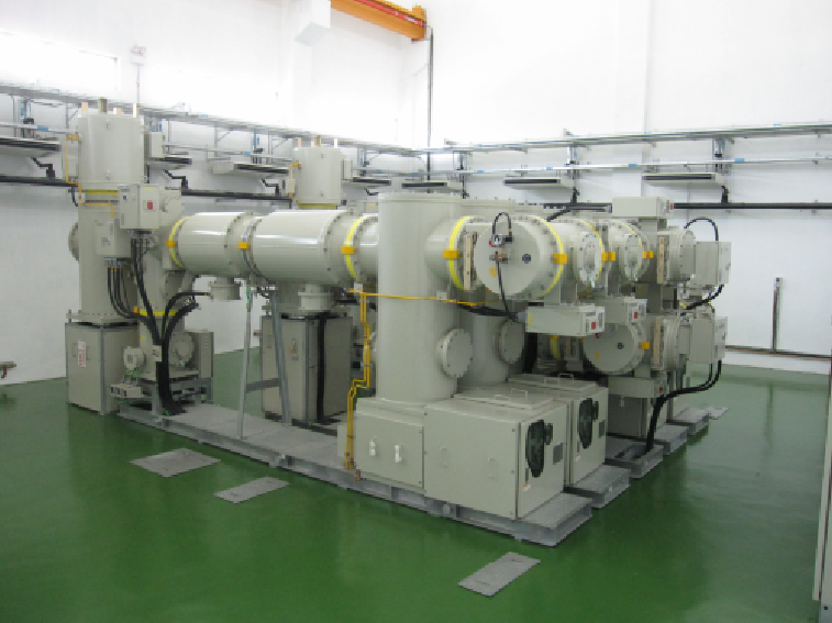 HV & MV GAS INSULATED SWITCHGEAR UP TO 132KV